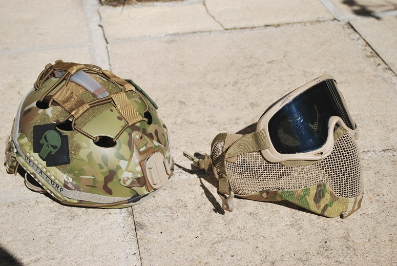 Modification du montage casque Emerson MULTICAM