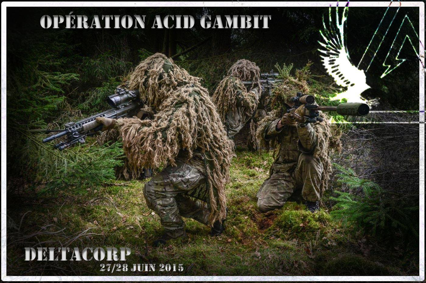 Opération Acid Gambit – 27/28 juin 2015